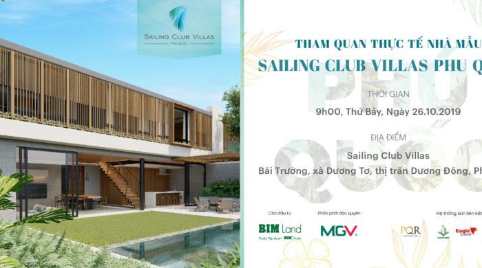 Tham quan biet thu mau Sailing Club Villas