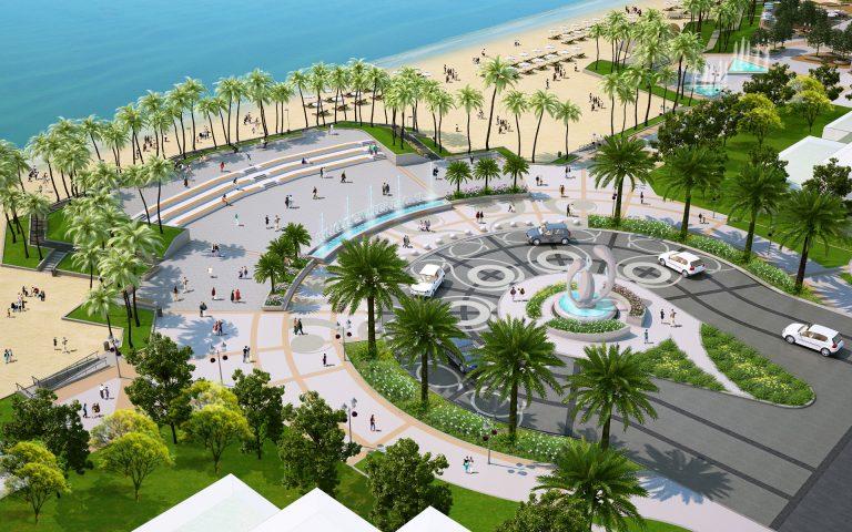 Quảng trường biển Phu Quoc Marina