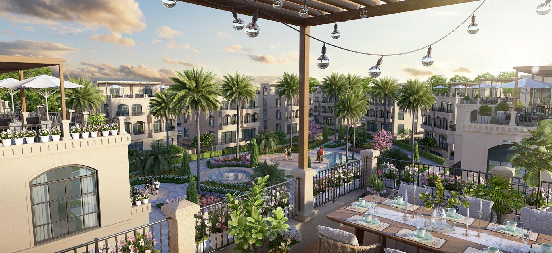 Palm 3 - Khu khuôn viên xanh mát