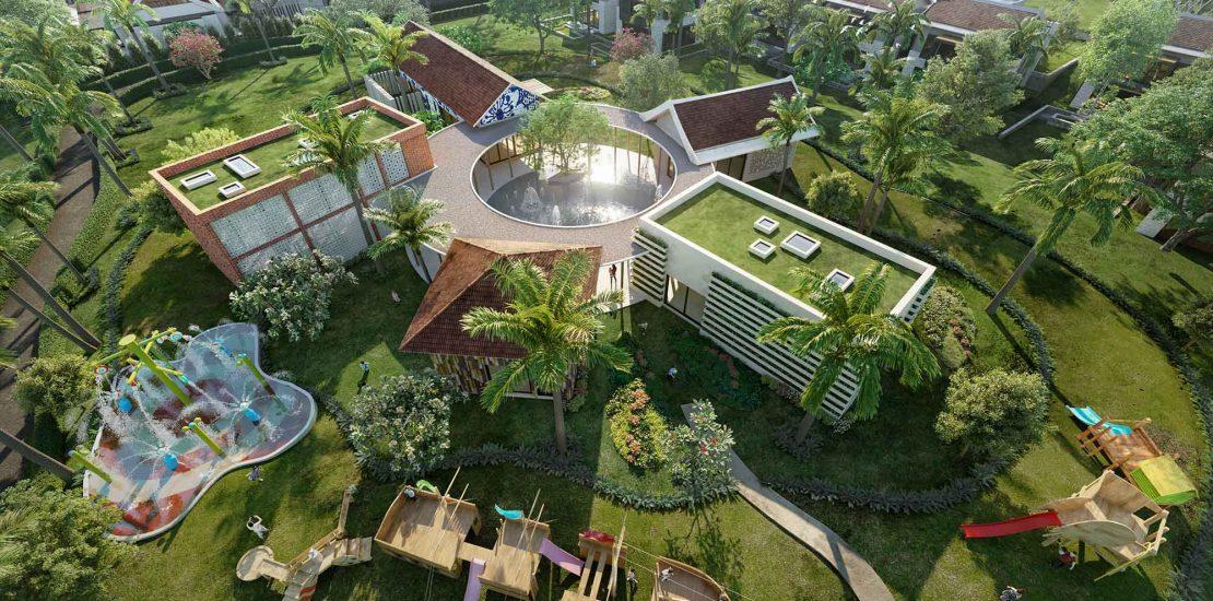 Park Hyatt Phu Quoc phoi canh Kids Village