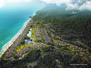 Park Hyatt Phu Quoc - phoi canh tong the