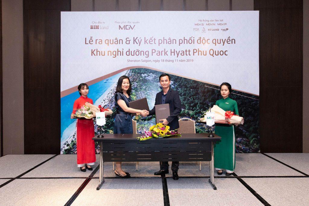 Ký kết phân phối Dự án Park Hyatt Phu Quoc