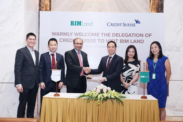 Lễ ký kết BIM Land cùng Credit Suisse