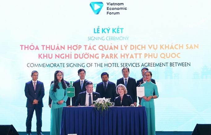 BIM Group va Tap doan Hyatt hop tac trien khai du an Park Hyatt Phu Quoc