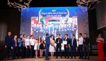 Công ty thành viên có thành tích xuất sắc nhất 2019 - MGV.S