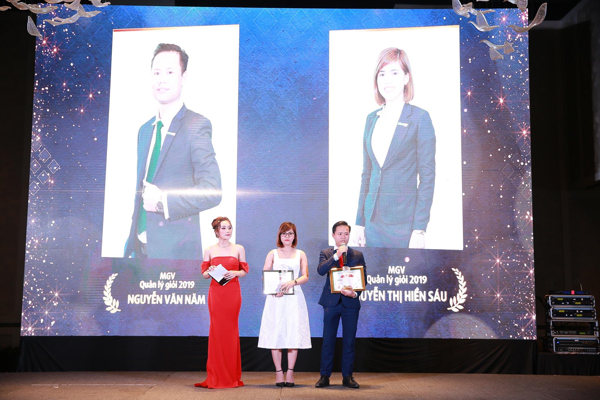 Quản lý giỏi năm 2019 - Nguyễn Văn Năm và Nguyễn Thị Hiền Sáu