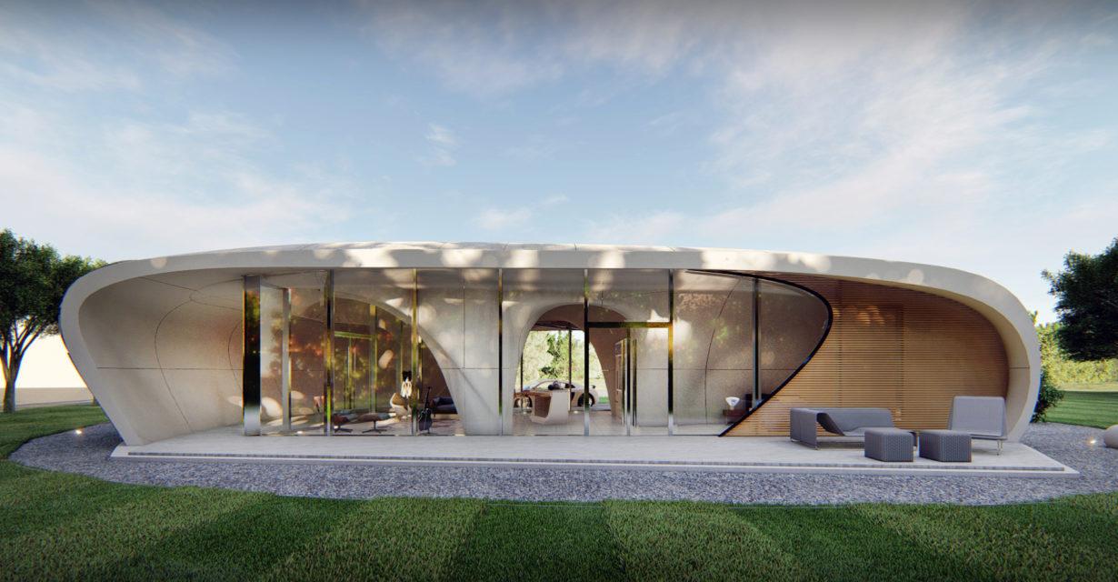 Curve Appeal - 3D House