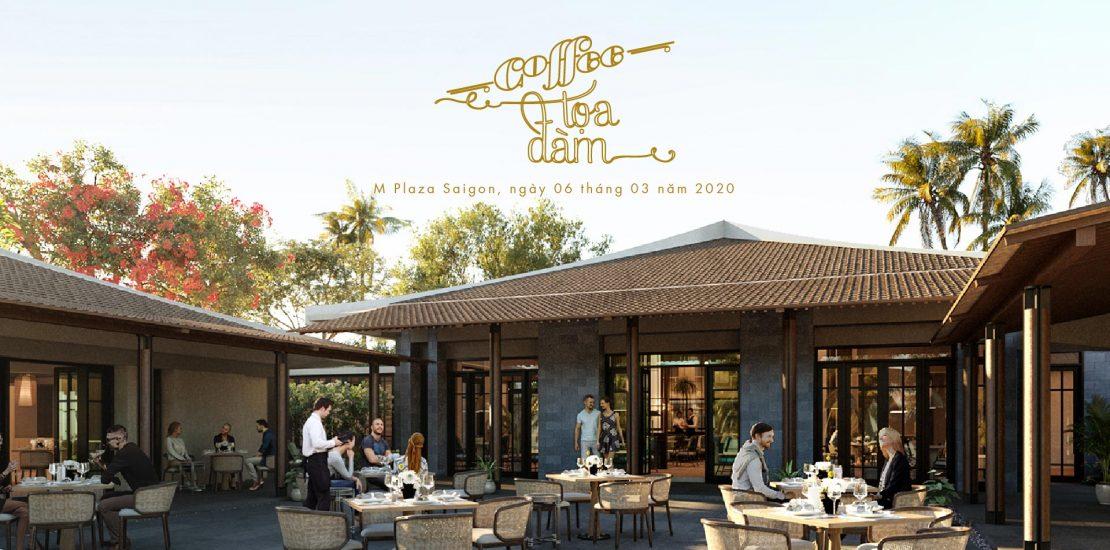 Cafe tọa đàm Park Hyatt Phu Quoc
