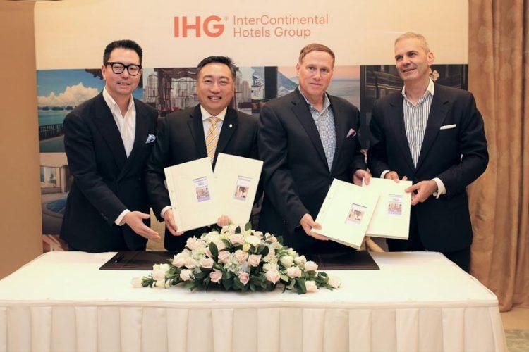 InterContinental Hotels Group (IHG) ký kết thỏa thuận hợp tác cùng công ty Dự án Hồ Tràm (HTP).