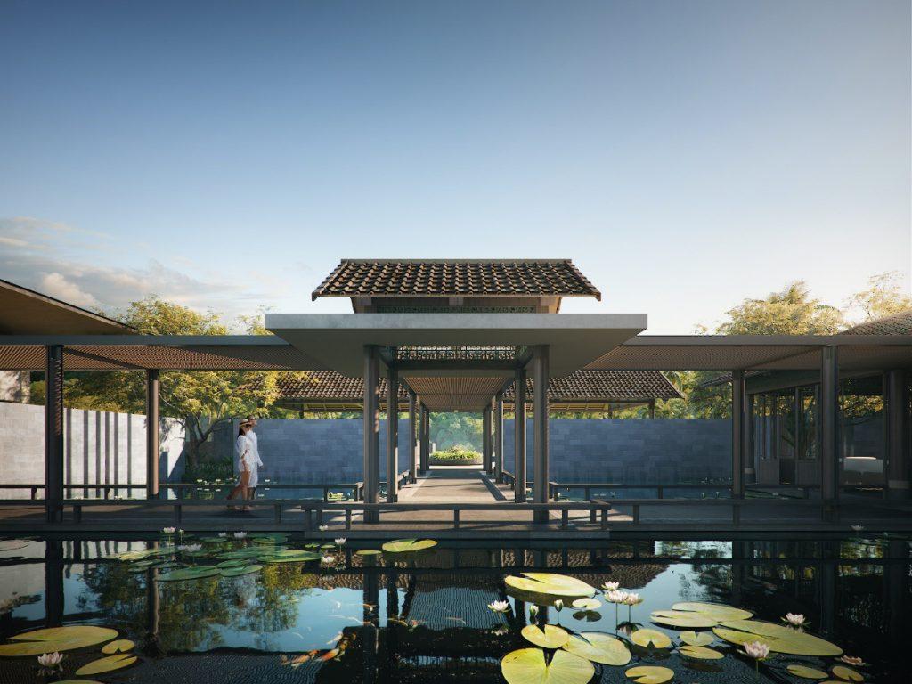 Kiến trúc mang cảm hứng từ ngôi nhà truyền thống Việt Nam