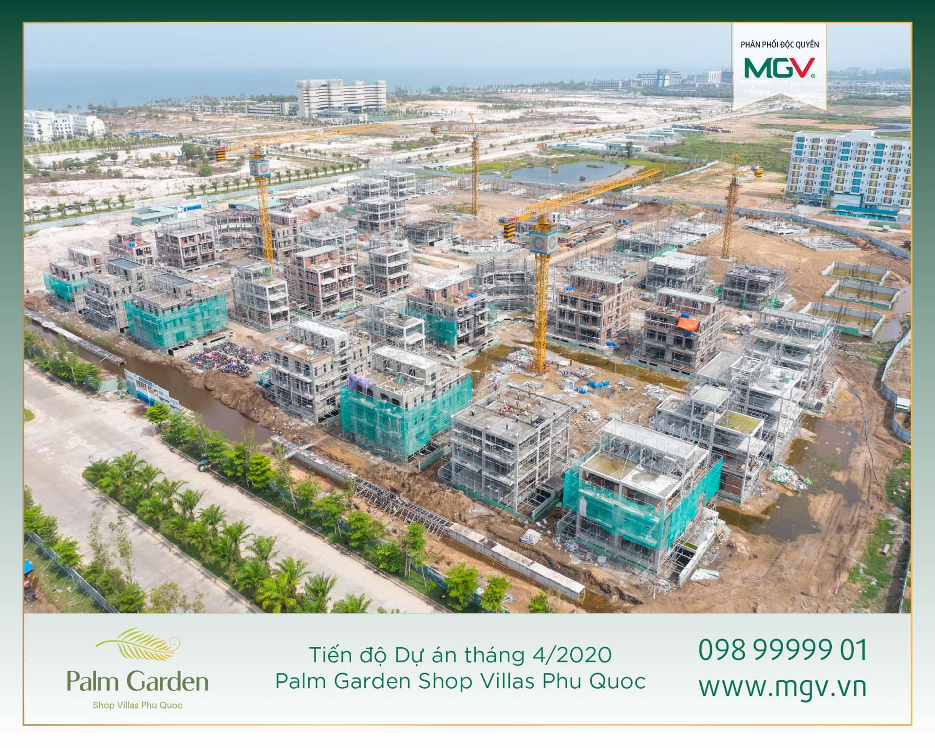 Biệt thự phố Palm Garden Phu Quoc