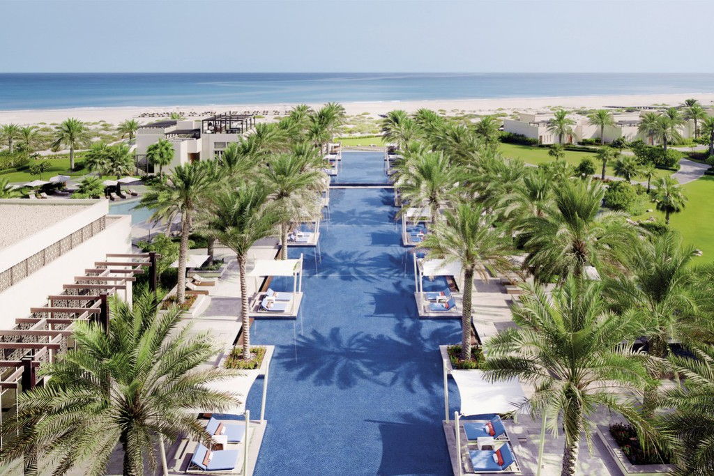 Khu nghỉ dưỡng Park Hyatt Abu Dhabi Hotel & Villas tại đảo Saadiyat, Abu Dhabi