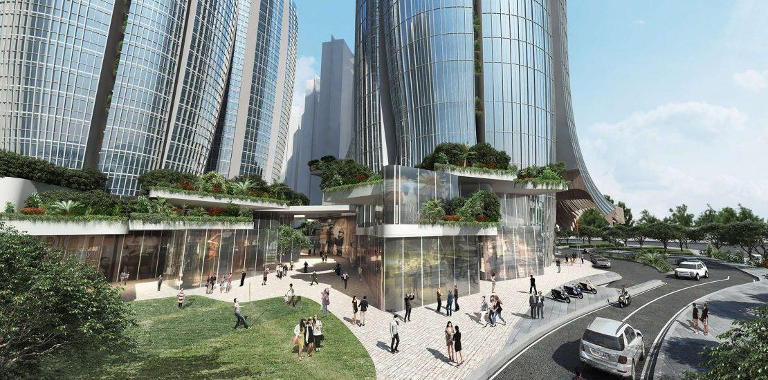 Tháp Eco Green Sai Gon