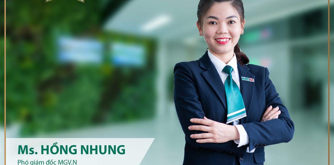 Tran Thi Hong Nhung - Pho Giam doc MGV.N
