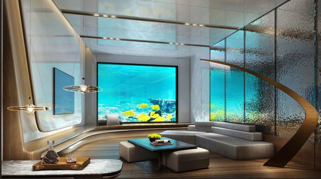 Intercontinental Shanghai Wonderland underwater suite