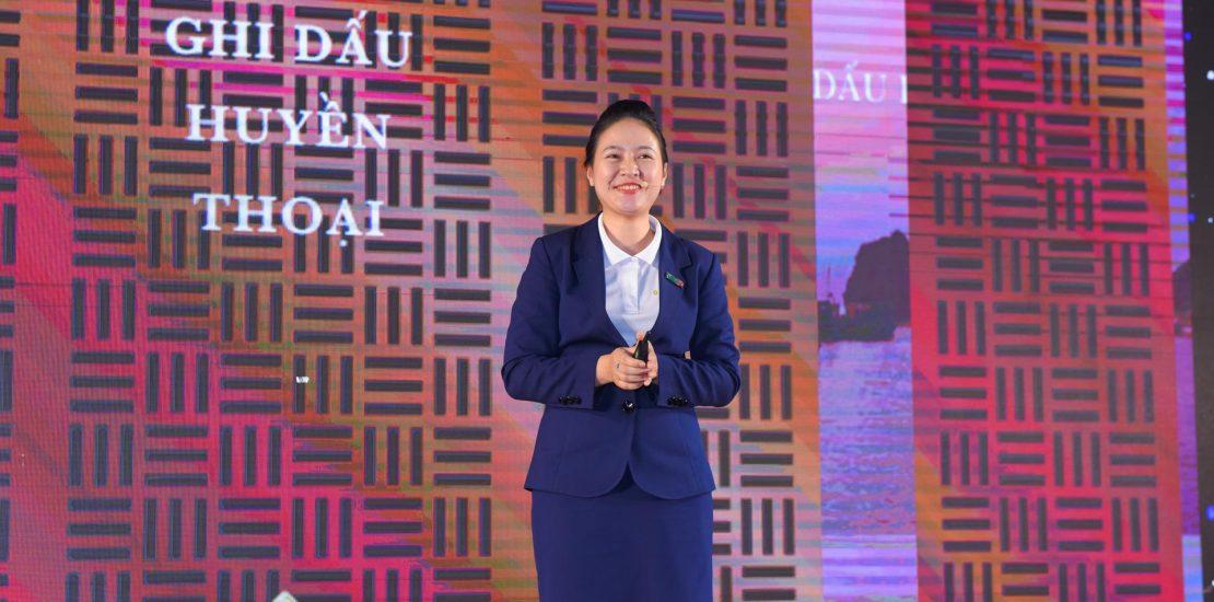 Chị LÊ MAI PHƯƠNG - Giám đốc Công ty CP BĐS MGV.N