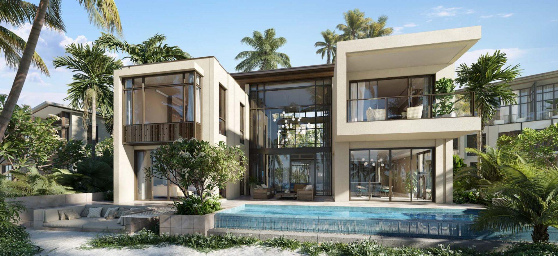 InterContinental Ha Long - Phoi canh Beach villas