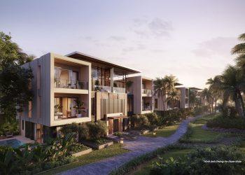 InterContinental Ha Long - Phoi canh Garden villas