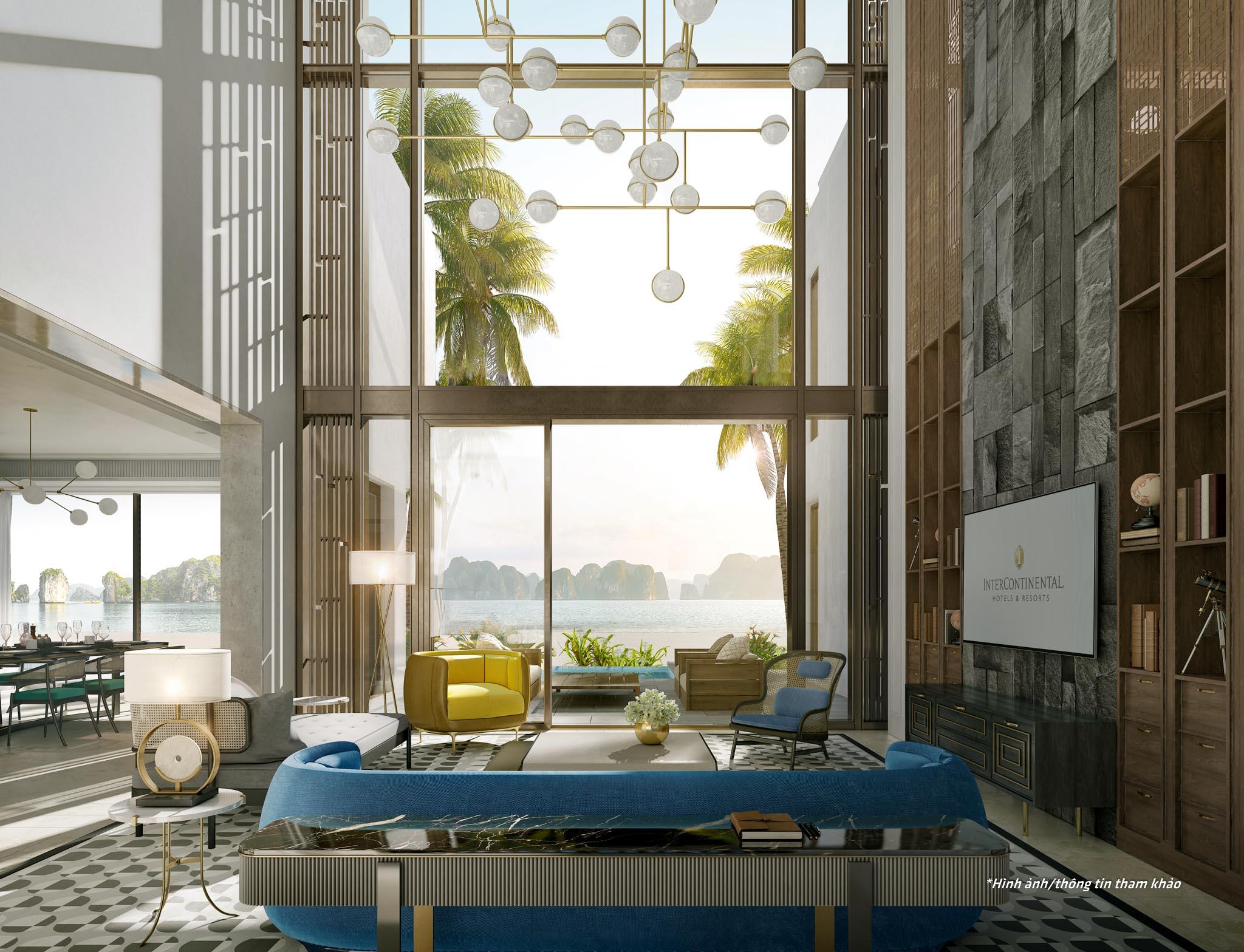 InterContinental Residences Halong Bay - phong khach