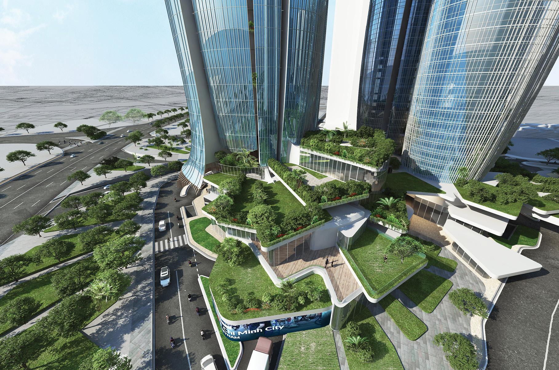 Thiết kế tòa Grand Hyatt