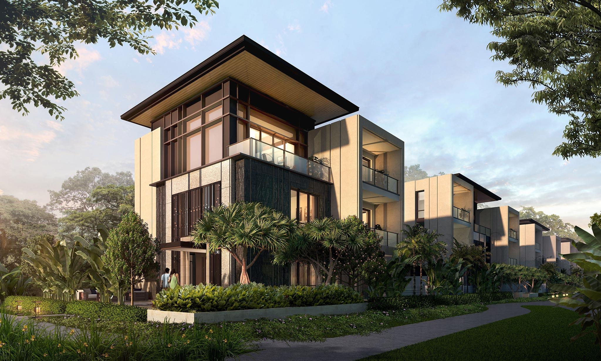 8-Single Garden Villa - InterContinental Residences Halong Bay