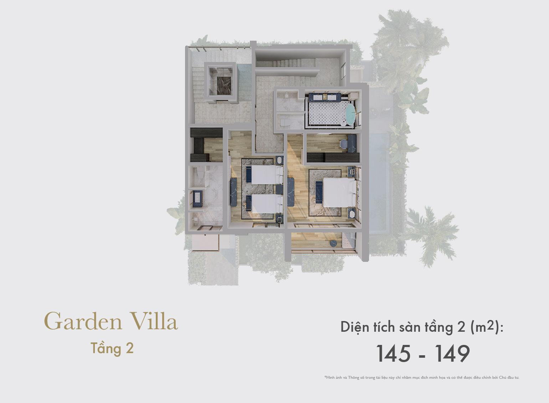 Garden Villa tầng 2