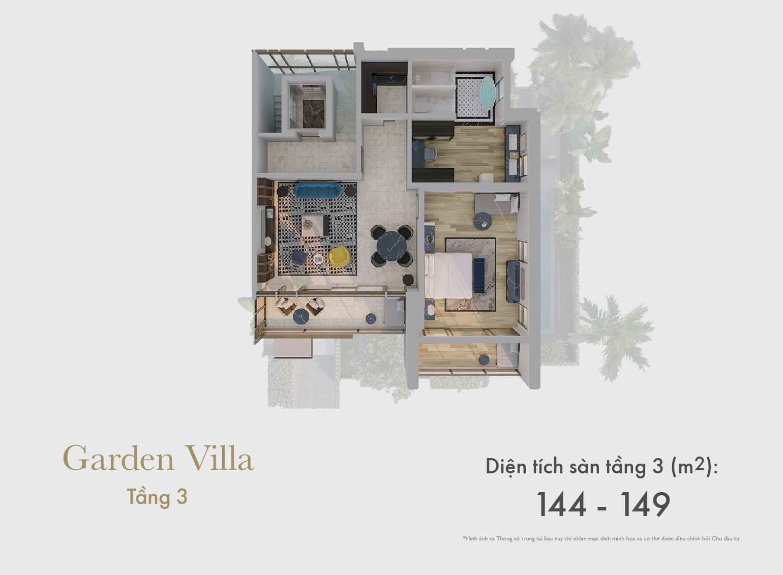 Garden Villa tầng 3