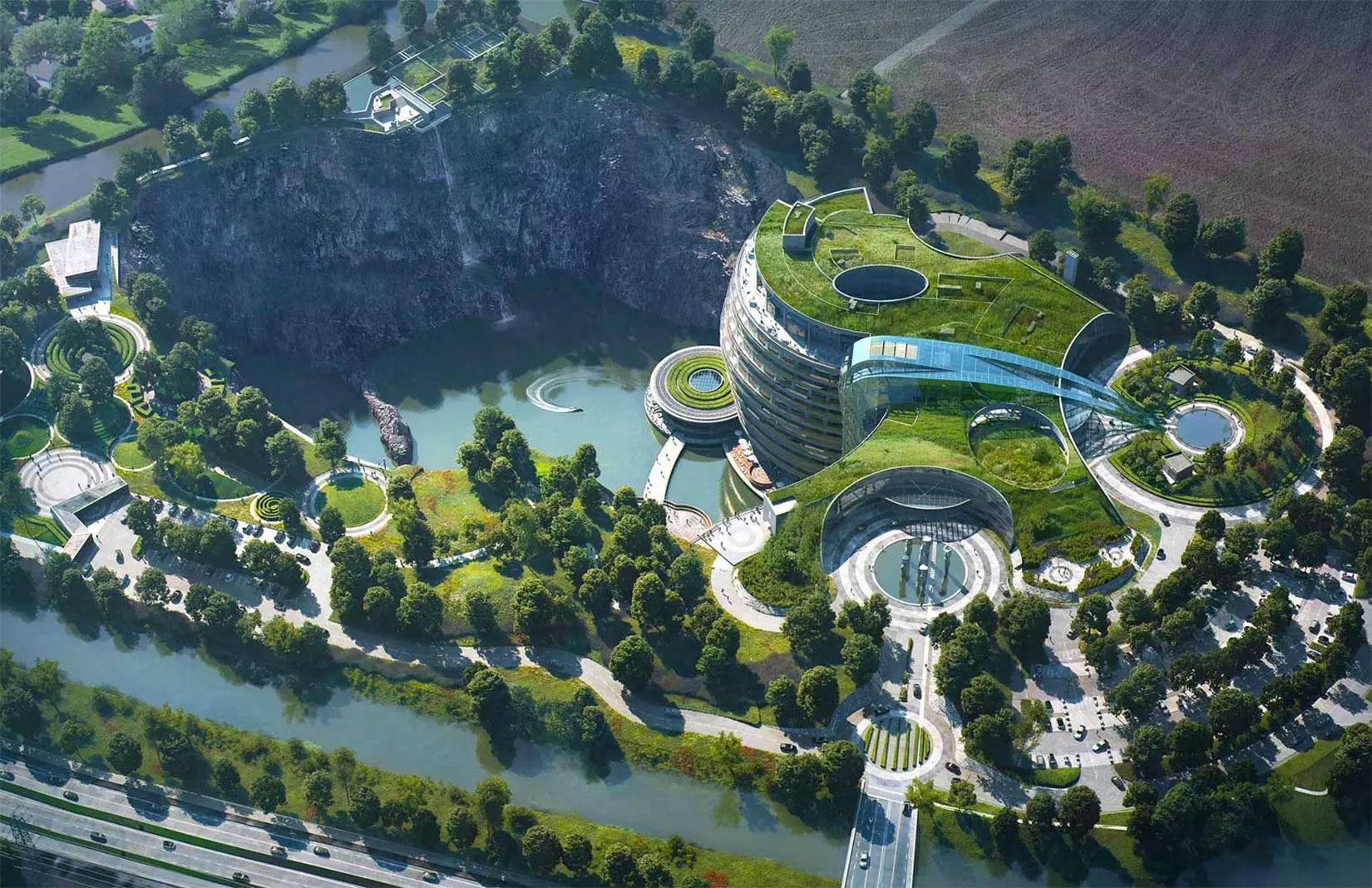 InterContinental Shanghai – khách sạn âm dưới lòng đất lớn nhất thế giới