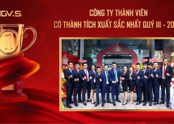 Công ty thành viên xuất sắc nhất quý III-2020