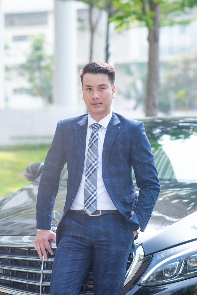 Ông Nguyễn Phước Lành - Giám đốc Công ty Cổ phần Bất động sản MGV.S