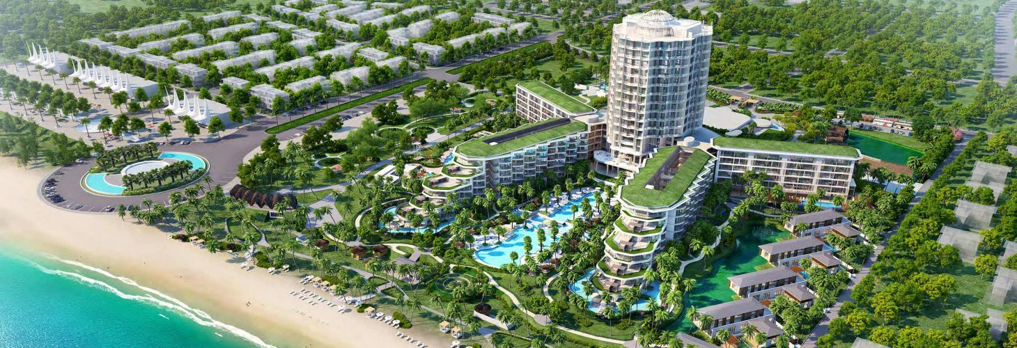 InterContinental Phu Quoc - phoi canh tong the